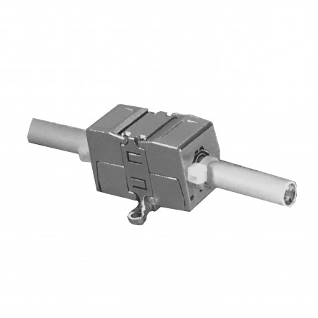 Cat6a Joiner Tool-Less IDC Field Termination Coupler